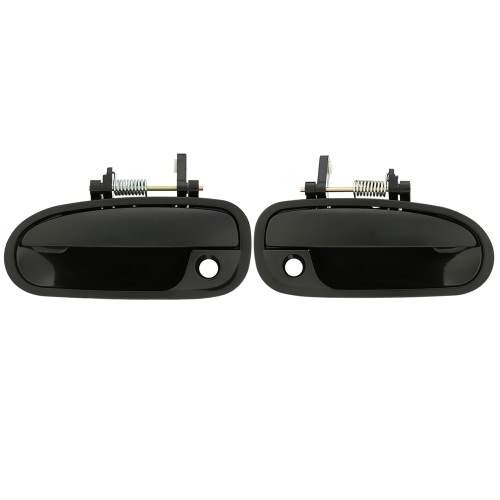 1 Pair Outside Exterior Door Handle Front Left + Right for Honda Civic 1996-2000 K4289