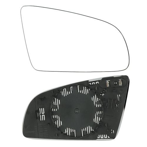 Left Passenger Side Heated Electric Wing Door Mirror Glass for AUDI A4 2001-2008