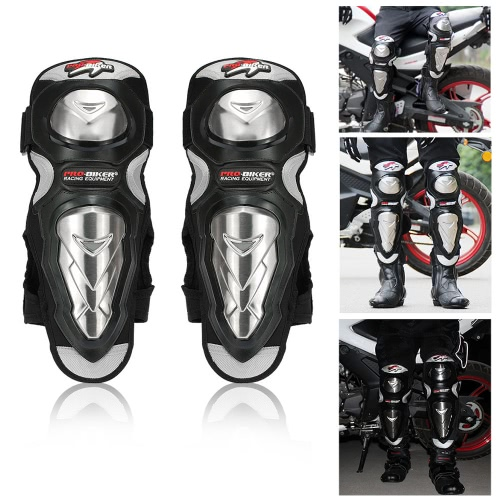 PRO-BIKER Knee Shin Protector Motorcycle Racing Genouillères Tapis de protection pour Patinage Skateboard Sport Sécurité