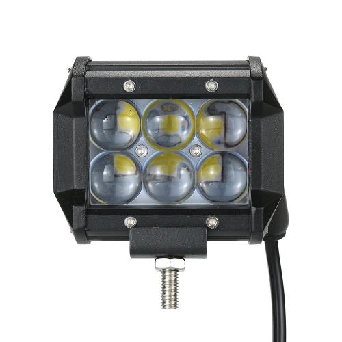 Lampe Jour Indicateurs W Route 18 De Travail Spot Lumière Conduite Hors Tracteur Camion Led Moto Pcs Bateau Barre 2 Faisceau Véhicule Pour mN0w8n