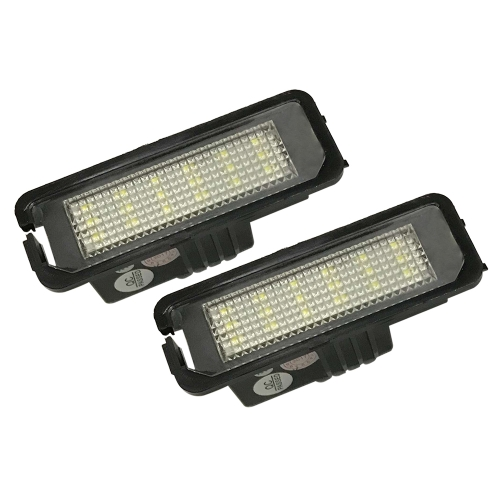 2x error free led number license plate light for VW GOLF MK 4 5 6 passat B6 EOS