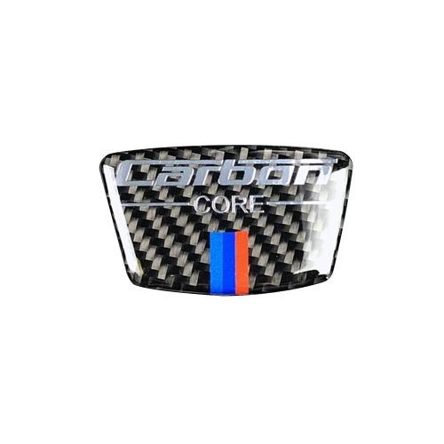 Carbon Fiber Car Sticker For Bmw E46 E39 E60 E90 F30 F34 F10 1 2 3 5 7 Series x1 x3 x5 x6 Carbon Fiber Emblem Car Stickers B Column Sticker