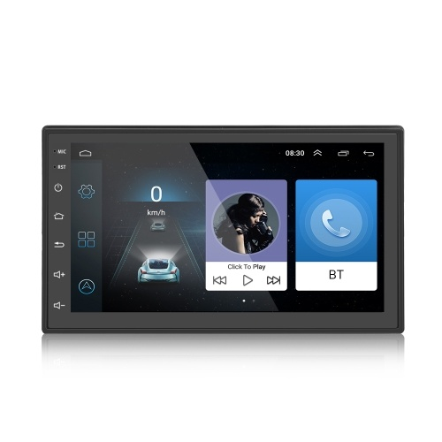 6.93 Inch Android 6.0 Vehicle Navigator Multimedia Player with MirrorLink Dual Control BT4.0