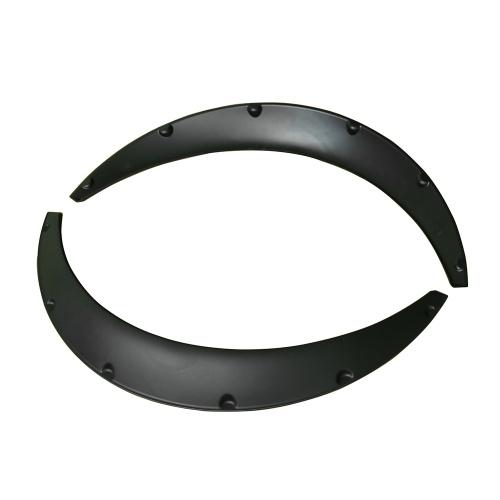 4PCS Black Universal Car Wheel Fender widening Wheels Interior fender  for Benz BMW VW Ford  USW All cars