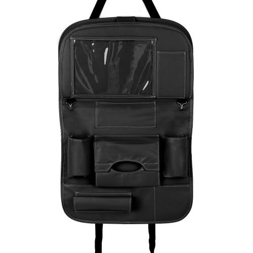 Auto-Rücksitz-Organisator PU-Leder-Auto-Rücksitzkissen