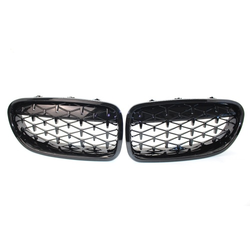 1 Pair of Car Front Grille Front Kidney Grilles