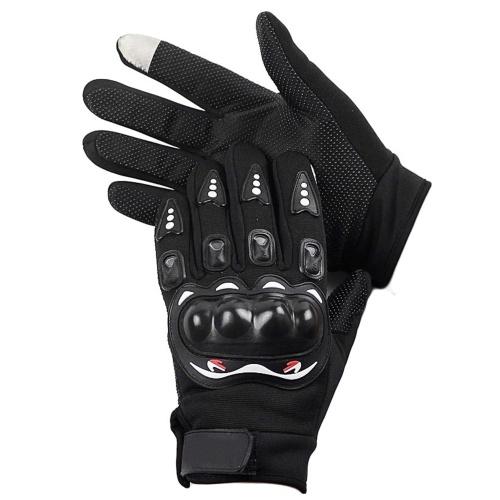 Guantes de moto para hombre Pantalla táctil Guantes de ciclismo con dedos completos Guantes calientes para moto MTB Ciclismo Motocross Montaña Deportes al aire libre , M-XL