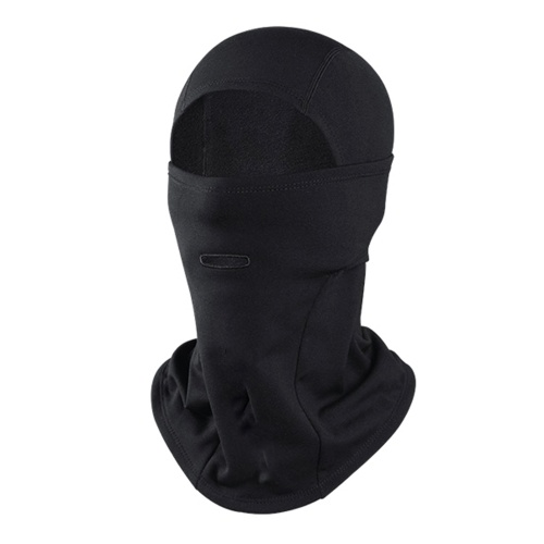 Full Face Cover Ski Mask Winter Face Protection Headcover with Earphone hole
