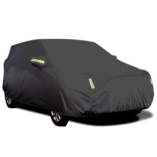 Седан автомобильный чехол водонепроницаемый всепогодный открытый автомобильный чехол защита от ультрафиолетового излучения ветрозащитный полный автомобильный чехол универсальный (4,4 * 1,8 * 1,6 м)