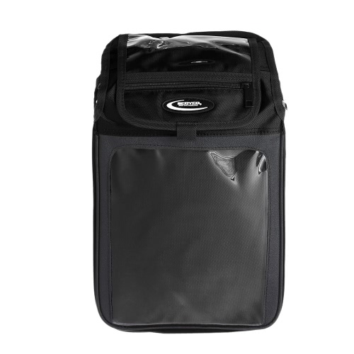 Scoyco Magnetic Fuel Tank Bag Motorcycle Helmet Bag with Practical Pockets Water-resistant Shoulder Bag for Driving Riding Traveling Equipment