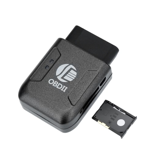 KKmoon OBD II GPS Realtime Tracker Car Mini Spy Tracking Device System GSM GPRS Black
