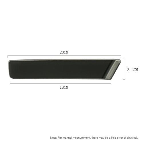Pair of Rear Bumper Reflect Warning Light Plate Replacement Modification Tail Brake Lamp for Honda N BOX K4524B