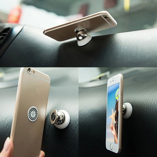 Soporte multifuncional rotatorio rotatorio del soporte del teléfono móvil de 360 grados universal para el imán automotriz de las fuentes