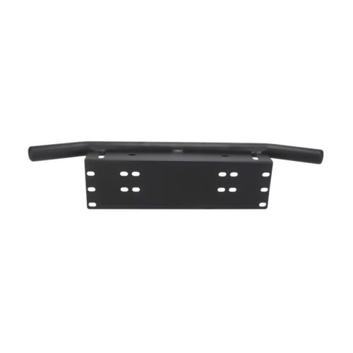 Universal Auto Przedni zderzak Uchwyt na tablicę rejestracyjną Aluminiowy uchwyt w stylu Bull Bar dla światła drogowego