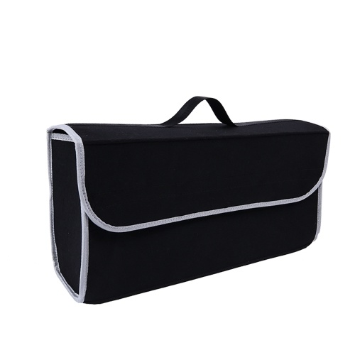Car Soft Storage Box Trunk Bag Travel Storage Organizer Holder Accessori auto nero