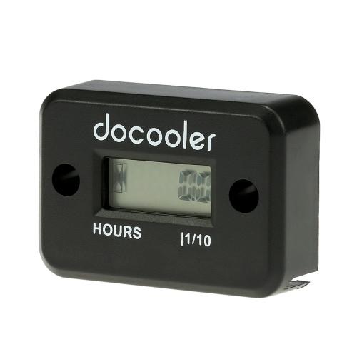 Docooler Cyfrowy miernik godzinowy Miernik indukcyjny LCD