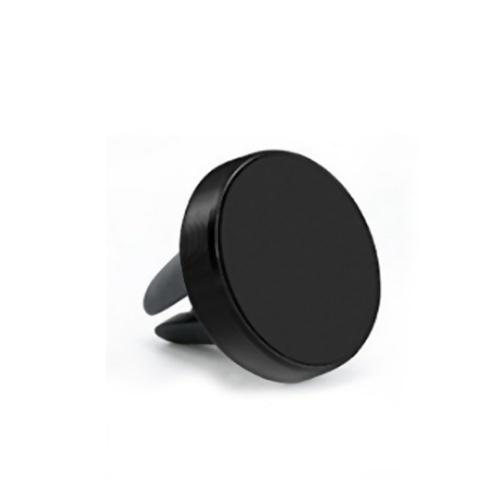 Новый дизайн мини автомобильный держатель телефона универсальная магнитная подставка для крепления на вентиляционное отверстие черный