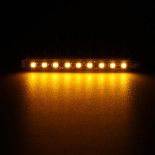 2 in 1 LED Interior Atmosphere Light Bar Car Auto Romantic Decoration Lamp Kit 12V