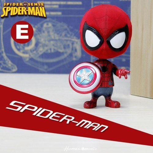Spider-Man Q Version Cute Styling Dolls Creative Toys