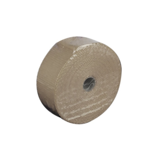 10m Fiberglass Wrap Exhaust Heat Wrap Roll Durable Wear-Resistant Heat Shield Tape Insulating Pipe Turbo Intake Manifold Heat Wrap for Motorcycle Car with 10 Ties