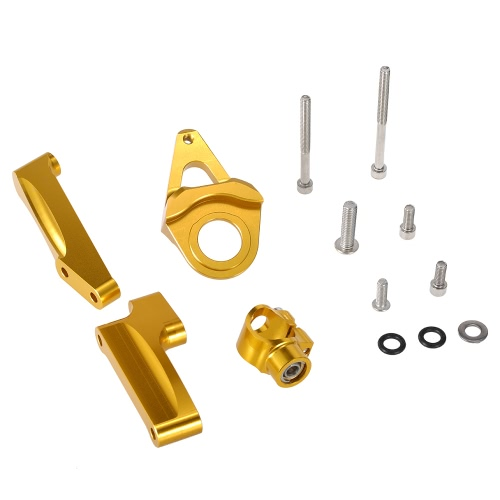 Motos Steering Damper Estabilizador de montagem Kit Suporte para Suzuki GSX1300R 1998-2015