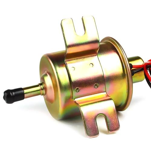 Universal Metal Solid Gasoline Petrol 12V Inline Vehicle Pompe à essence électrique HEP-02A Voitures automobiles à basse pression pour Nissan Mazda Toyota
