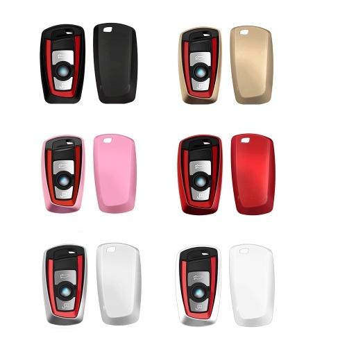 Tasto Caso chiave Fob per BMW Motor Red