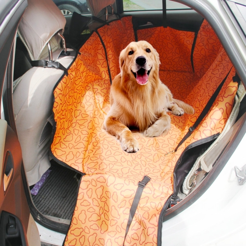 Pet Dog Car Auto Rear Back Seat Carrier Cubierta Mat Manta Hamaca Cushion Protector Holder Travel plegable
