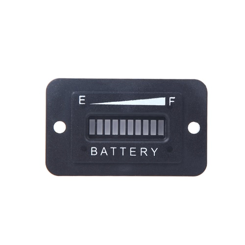 Battery Status Charge Indicator Monitor Meter Gauge LED Digital 12V&24V