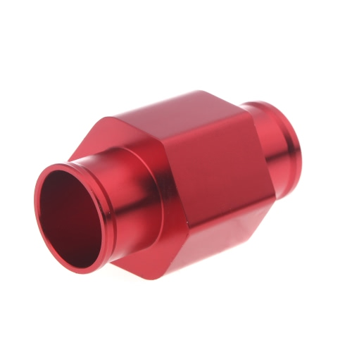 Water Temp Temperature Joint Pipe Sensor Gauge Radiator Hose Adapter 34mm Red