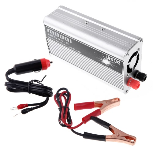 Image of 1000W WATT DC 12V to AC 220V Car Power Inverter
