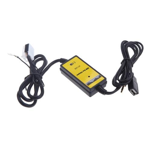 KKmoon Auto USB AUX-IN Adapter mit Kartenleser MP3/Player Radio Interface