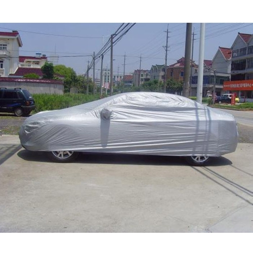 Full Car Cover Indoor Outdoor Sunscreen Heat Protection Dustproof Anti-UV Scratch-Resistant  Sedan Universal Suit S