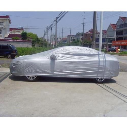 Plein de voiture de la couverture intérieure de protection solaire extérieure chaleur Protection antipoussière Anti-UV Scratch-Sedan résistant universel costume XL