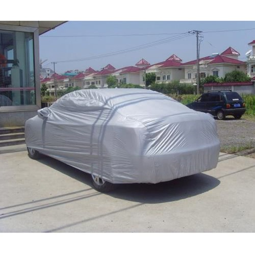 Full Car Cover Indoor Outdoor Sunscreen Heat Protection Dustproof Anti-UV Scratch-Resistant Sedan Universal Suit XXL