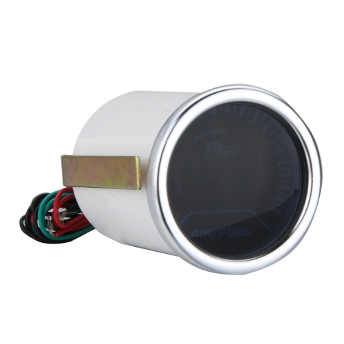 2 « fumée de 52mm Lens pointeur Air/Fuel Ratio blanc LED jauge universelle Auto compteur voiture style Instrument