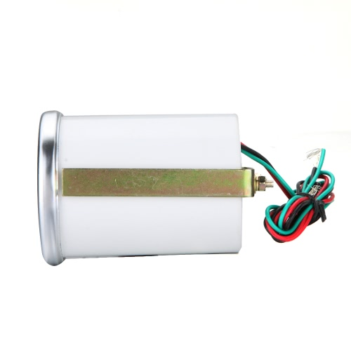 """2 """"52mm biała LED wskaźnik tempomatu wody Samochód Autometr Czujnik temperatury wody"""