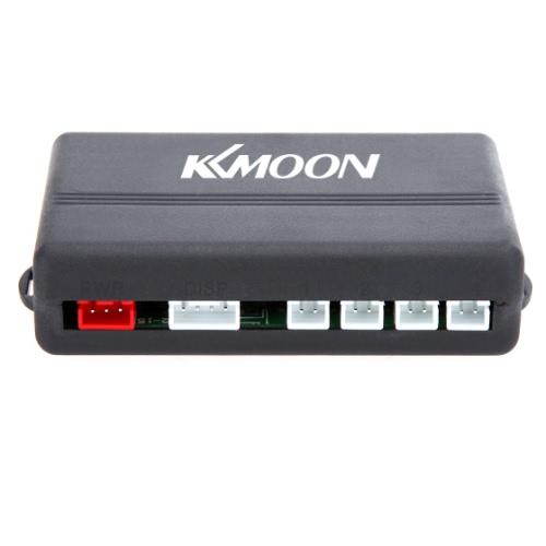 KKmoon Car LED Parking Reverse Backup Radar System with Backlight Display + 4 OEM Sensors