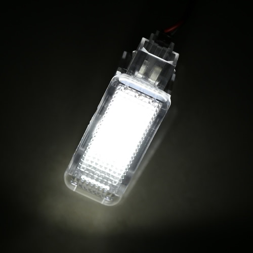 LED Door Welcome Interior Light Courtesy Lamp under Door Footwell Trunk Light for Audi A3 A4 A6 A8 Q7 Q5 RS4