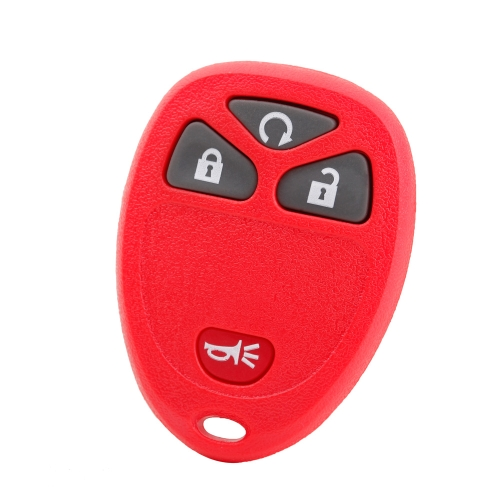 Nouveau remplacement télécommande porte-clé Keyless-Clicker Case Shell Rubber Pad logement