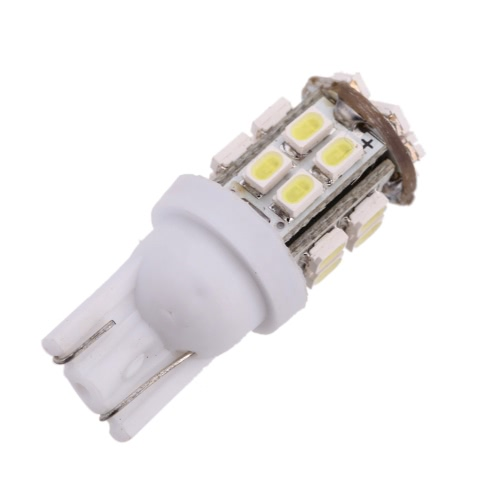 2pcs Car Auto T10 24SMD-1206 LED Light Bulbs Side Wedge Super Bright White License Plate Lights