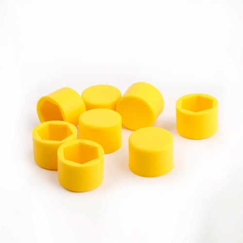 20Pcs 17mm Silicone Wheel Lug Nut Caps  Bolt Covers