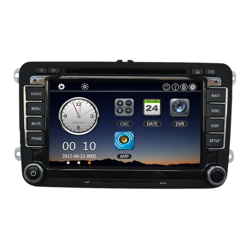 "Universal Car 7 ""1080P HD DVD Player BT Navigation GPS"