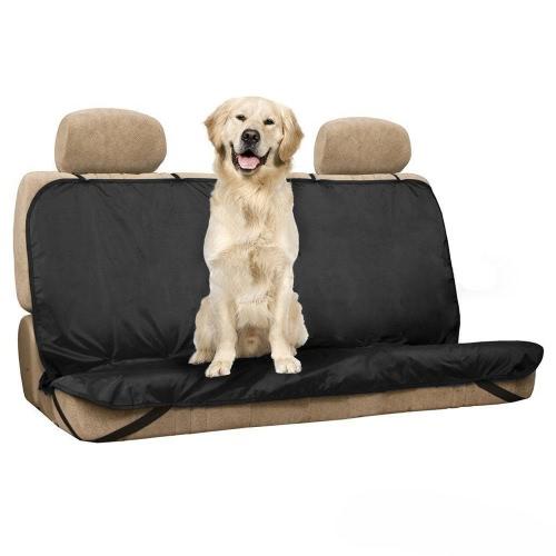 Tirol Nuevo Mascotas / Gatos / Perros Cubierta de Asiento Mat Impermeable Asiento Trasero del Coche Cubierta Bench Protector con Cinturones