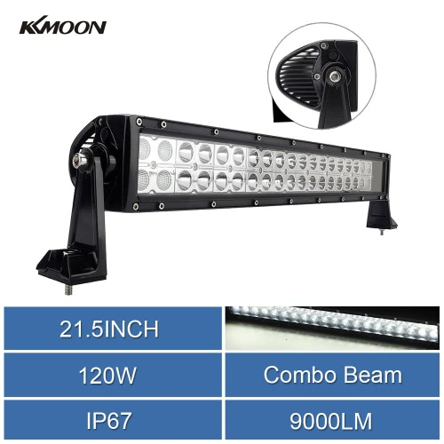 1pc 21.5inch 120W Double Row EPISTAR LED Work Lamp Combo Beam Off-road Car SUV Truck Boat Light