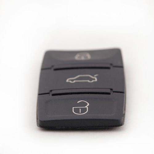 Botão chave Pad substituição 3 botões Pad & pânico para Volkswagen