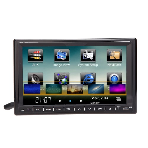 "Universal 3G WiFi 7 ""2 Din Car DVD / USB / SD Player"