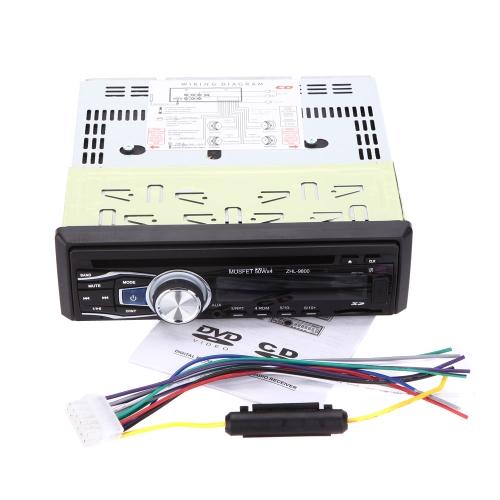 Car CD/MP3/WMA/USB/SD Player AUX in Dash Car Radio Audio Receiver Stereo Player