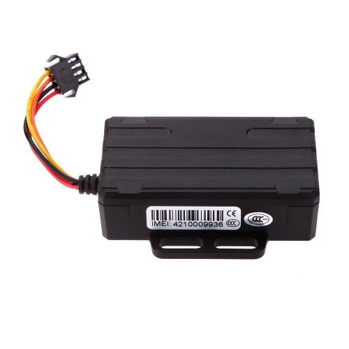 Impermeável em tempo Real GPS GSM carro veículo Tracker telefone SMS localizador Global anti-roubo carro alarme de controle