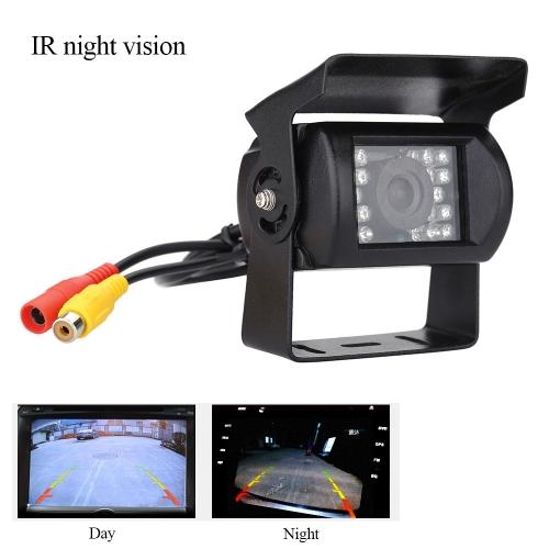Wireless IR Night Vision Car Camera Rear View Back up Camera System 7